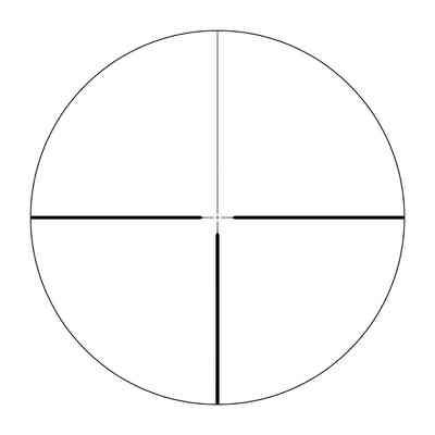 Luneta celownicza Delta Optical Classic 3-12x56 4A