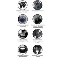posiada wszystkie cechy profesjonalnego mikroskopu