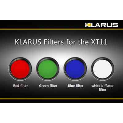 Filtr czerwony do latarek Klarus XT11