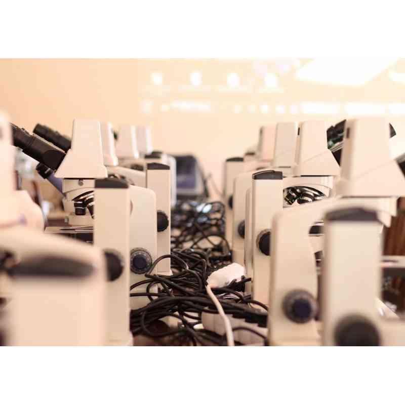 Mikroskop Delta Optical Genetic Pro Bino z kamerą + akumulator