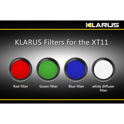 Filtr niebieski do latarek Klarus XT11
