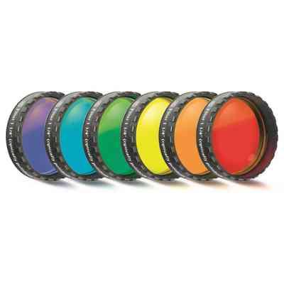 """Zestaw filtrów barwnych Baader (6 szt.) 1,25"""""""
