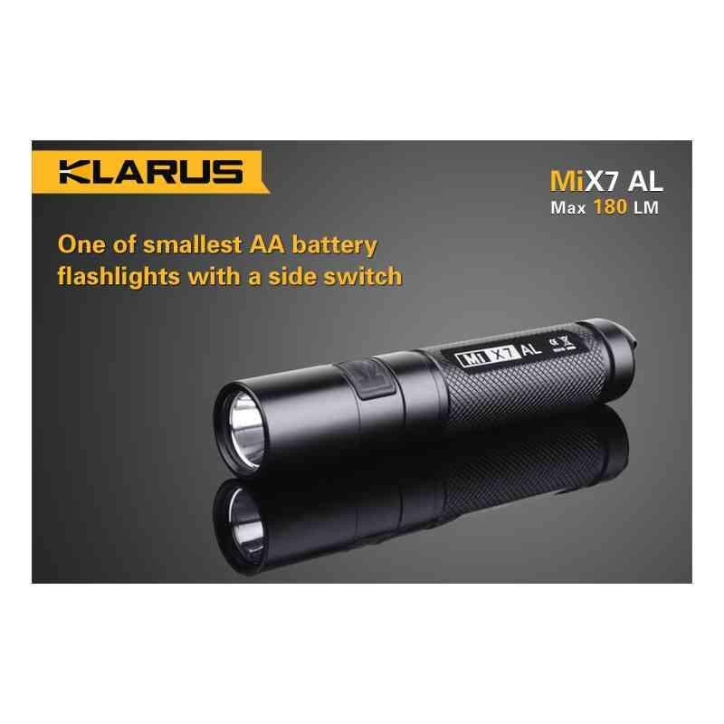 Latarka Klarus MiX7 AL (180 lumenów)