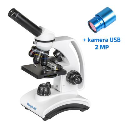 Mikroskop BioLight 300 z kamerą  2 MP w zestawie