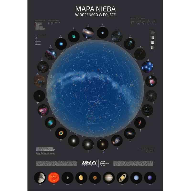 Plakat Mapa Nieba B2