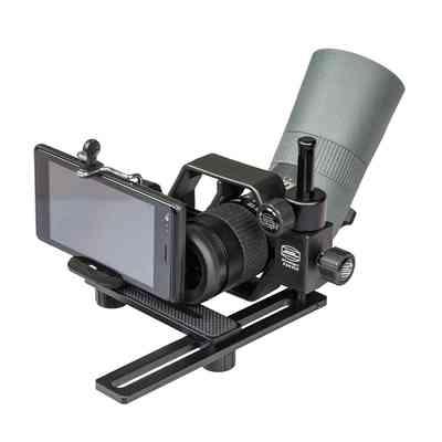 Adapter fotograficzny dla telefonów do lunet obserwacyjnych