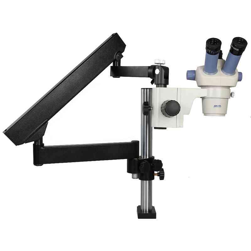 [Zestaw] Mikroskop stereoskopowy Delta Optical SZ-450T + statyw F1