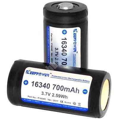 Akumulator KeepPower 16340 700mAh