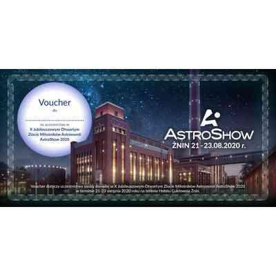Pomysł na prezent - Voucher na udział w AstroShow