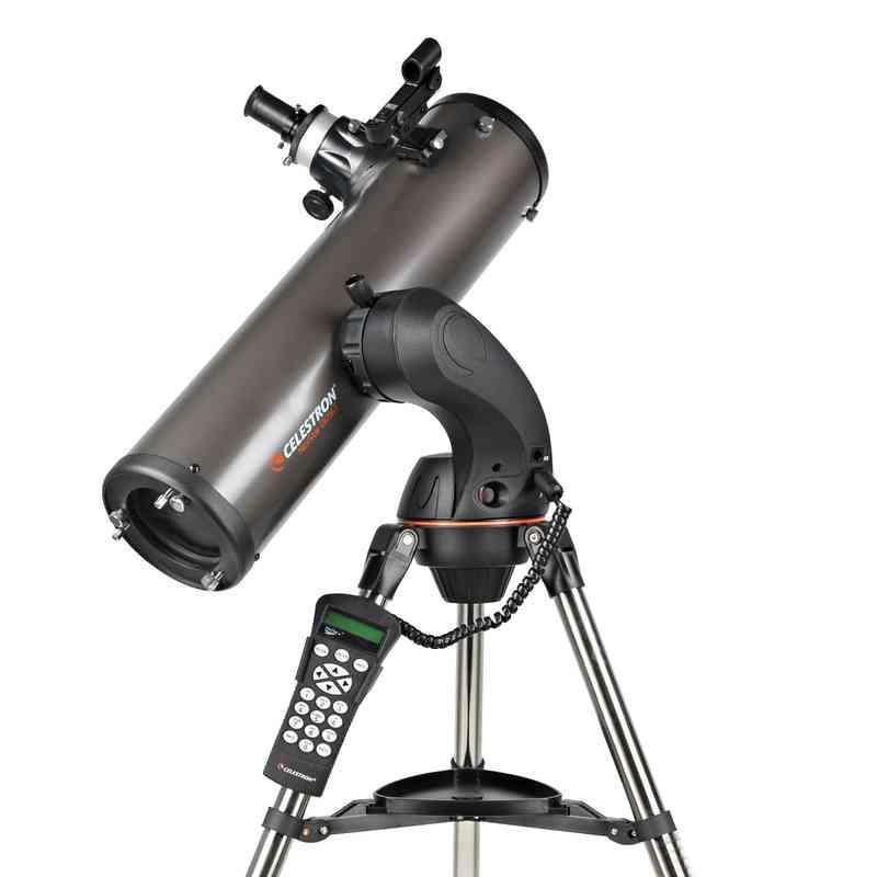 Teleskop Celestron NexStar 130 SLT + Obrotowa mapa nieba DO + Filtry + Pierwsze Obserwacje Astronomiczne