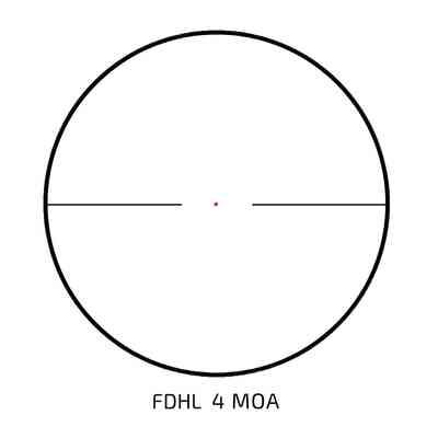 Luneta celownicza Delta Optical Titanium 1-5,8x24 FDHL 4MOA (Powystawowa)
