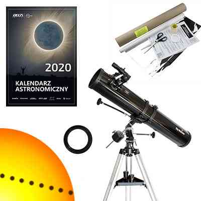 [Zestaw] Teleskop Sky-Watcher BK 1149 EQ1 114/900