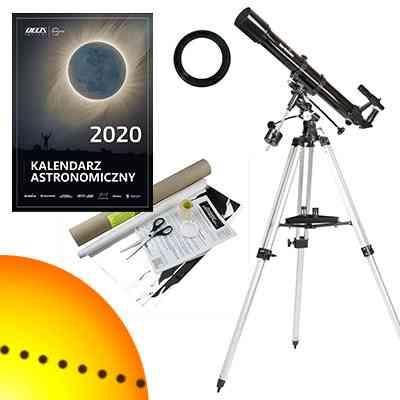 [Zestaw] Teleskop Sky-Watcher BK 909 EQ2 90/900