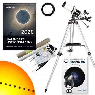 [Zestaw] Teleskop Sky-Watcher  BK 1025 AZ3 102/500 + filtr słoneczny