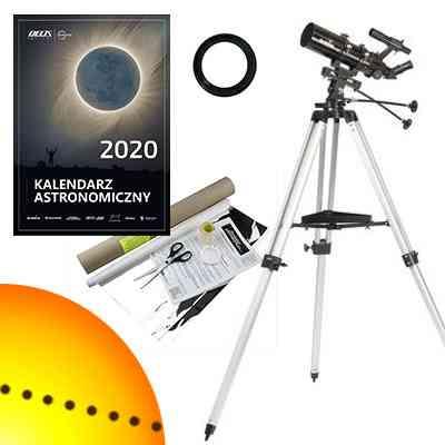 [Zestaw] Teleskop Sky-Watcher  BK 804 AZ3 80/400