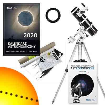 [Zestaw] Teleskop Sky-Watcher BKP 15075 EQ3-2 z wyciągiem Crayforda 150/750 + filtr słoneczny