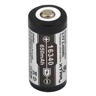 Akumulator XTAR 16340 650mAh