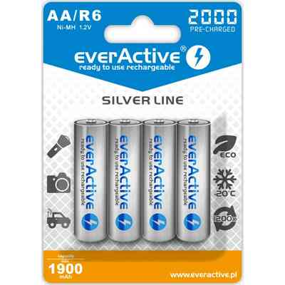 Akumulator everActive 2000 silver line