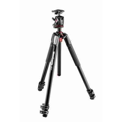 Statyw Manfrotto MT055XPRO3 + głowica MHXPRO- BHQ2