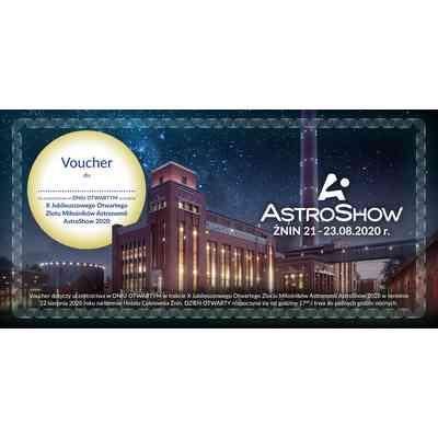 Pomysł na prezent - Voucher na udział w Dniu Otwartym AstroShow