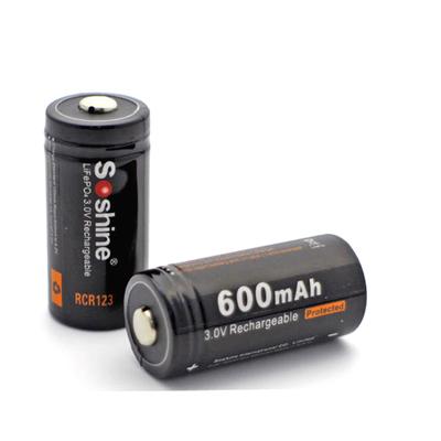 Akumulator Soshine 16340 LiFePO4 3,2V
