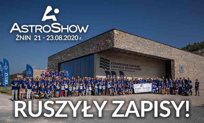 Astroshow 2020 - Zapraszamy!