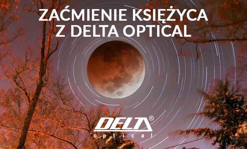 Zaćmienie księżyca z Delta Optical